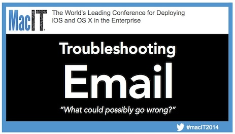 Troubleshooting Email - slide 1